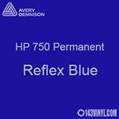 "Avery HP 750 - Reflex Blue- 12"" x 5 Foot"