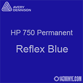 "Avery HP 750 - Reflex Blue- 12"" x 12"" Sheet"