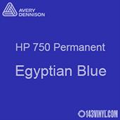 "Avery HP 750 - Egyptian Blue- 12"" x 5 Foot"