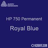 "Avery HP 750 - Royal Blue- 12"" x 5 Foot"