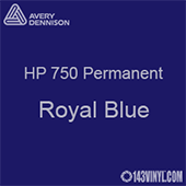 "Avery HP 750 - Royal Blue- 12"" x 12"" Sheet"