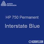 "Avery HP 750 - Interstate Blue- 12"" x 12"" Sheet"