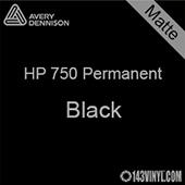 "Avery HP 750 - Matte Black- 12"" x 12"" Sheet"