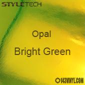 "StyleTech Opal - Bright Green - 12"" x 24"" Sheet"