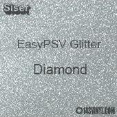 """Siser EasyPSV Glitter - Diamond (13) - 12"""" x 12"""" Sheet"""