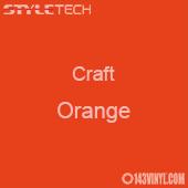"Styletech Craft Vinyl - Orange- 12"" x 5 Foot"