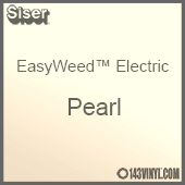 """12"""" x 15"""" Sheet Siser EasyWeed Electric HTV - Pearl"""