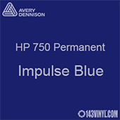 """Avery HP 750 - Impulse Blue- 12"""" x 24"""" Sheet"""