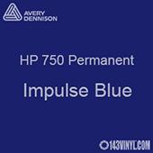 "Avery HP 750 - Impulse Blue- 12"" x 5 Foot"