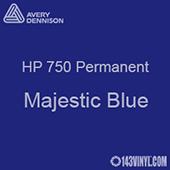 """Avery HP 750 - Majestic Blue- 12"""" x 24"""" Sheet"""