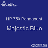 """Avery HP 750 - Majestic Blue- 12"""" x 12"""" Sheet"""