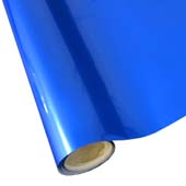 """25 Foot Roll of 12"""" StarCraft Electra Foil - Royal Blue"""