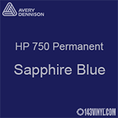 "Avery HP 750 - Sapphire Blue- 12"" x 24"" Sheet"