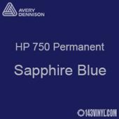 "Avery HP 750 - Sapphire Blue- 12"" x 5 Foot"