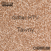 "Glitter HTV: 12"" x 20"" - Tawny"