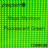 """12"""" x 24"""" Sheet - StarCraft Magic - Mystique Fluorescent Green"""