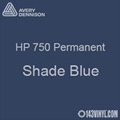 """Avery HP 750 - Shade Blue- 12"""" x 5 Foot"""