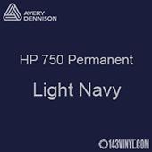 """Avery HP 750 - Light Navy- 12"""" x 5 Foot"""