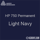 "Avery HP 750 - Light Navy- 12"" x 12"" Sheet"