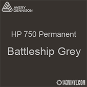 "Avery HP 750 - Battleship Grey- 12"" x 24"" Sheet"