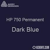 "Avery HP 750 - Dark Blue- 12"" x 5 Foot"