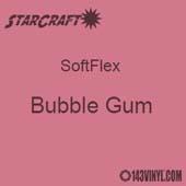 "12"" x 5 Foot Roll - StarCraft SoftFlex  HTV - Bubble Gum"