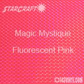 """12"""" x 12"""" Sheet - StarCraft Magic - Mystique Fluorescent Pink"""