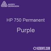 """Avery HP 750 - Purple- 12"""" x 5 Foot"""