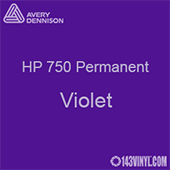 """Avery HP 750 - Violet- 12"""" x 5 Foot"""