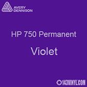 "Avery HP 750 - Violet- 12"" x 12"" Sheet"