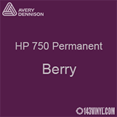 "Avery HP 750 - Berry- 12"" x 24"" Sheet"