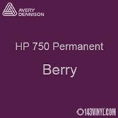 "Avery HP 750 - Berry- 12"" x 5 Foot"