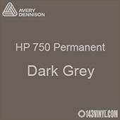 """Avery HP 750 - Dark Grey- 12"""" x 24"""" Sheet"""