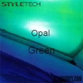 """StyleTech Opal - Green - 12"""" x 12"""" Sheet"""