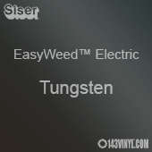 """12"""" x 15"""" Sheet Siser EasyWeed Electric HTV - Tungsten"""