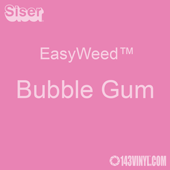 """EasyWeed HTV: 12"""" x 5 Foot - Bubble Gum"""