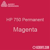 """Avery HP 750 - Magenta- 12"""" x 24"""" Sheet"""
