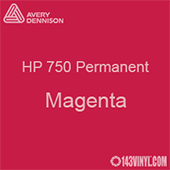 """Avery HP 750 - Magenta- 12"""" x 5 Foot"""