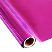 """25 Foot Roll of 12"""" StarCraft Electra Foil - Pink"""
