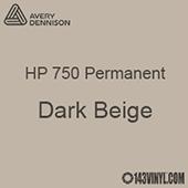 """Avery HP 750 - Dark Beige- 12"""" x 24"""" Sheet"""
