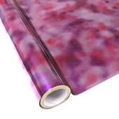 """25 Foot Roll of 12"""" StarCraft Electra Foil - Tie Dye Purple"""
