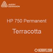 "Avery HP 750 - Terracotta- 12"" x 5 Foot"