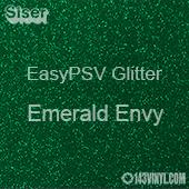 """Siser EasyPSV Glitter - Emerald Envy (64) - 12"""" x 24"""" Sheet"""