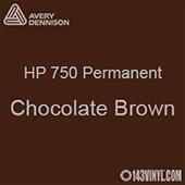 "Avery HP 750 - Chocolate Brown- 12"" x 12"" Sheet"
