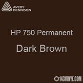 """Avery HP 750 - Dark Brown- 12"""" x 12"""" Sheet"""