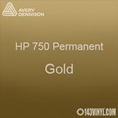 """Avery HP 750 - Gold- 12"""" x 24"""" Sheet"""