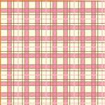 "Printed Pattern Vinyl - Pink and Brown Plaid 12"" x 12"" Sheet"