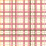 "Printed Pattern Vinyl - Pink and Brown Plaid 12"" x 24"" Sheet"