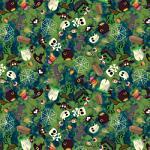 "Printed Pattern Vinyl - Creepy Creatures 12"" x 12"" Sheet"