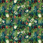 "Printed Pattern Vinyl - Creepy Creatures 12"" x 24"" Sheet"